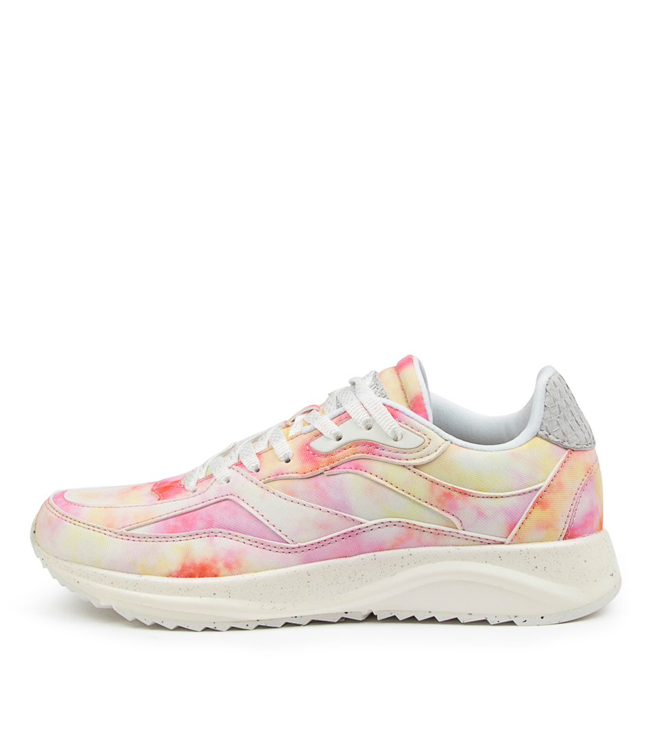 Buy Woden Sophie Splash Wu Soft Pink Sneakers online with free shipping