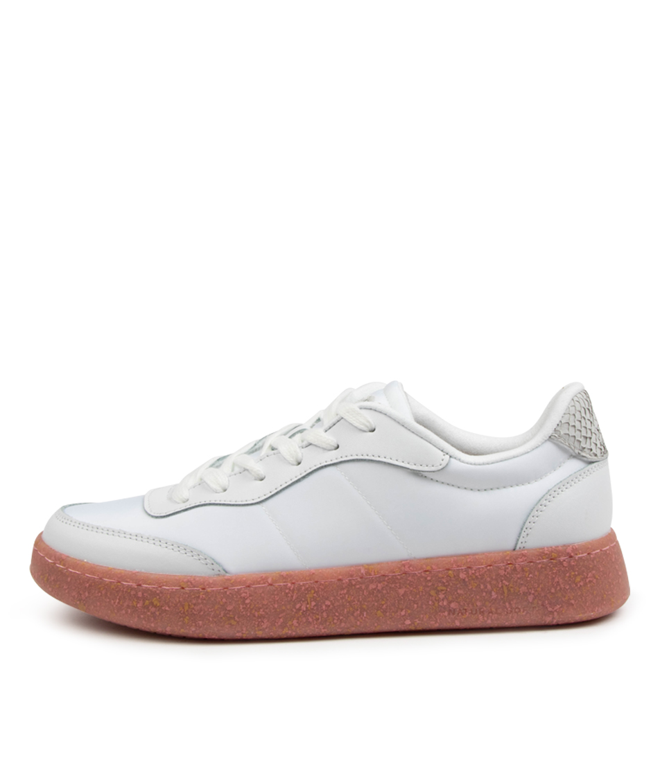 Buy Woden May Ii Wu Bright White Soft Pink Sneakers online with free shipping
