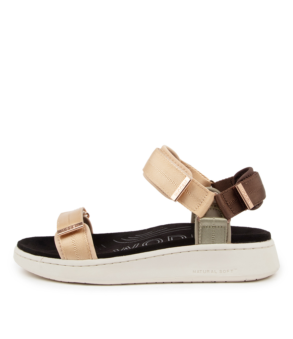 Buy Woden Line Wu Multi Flat Sandals online with free shipping
