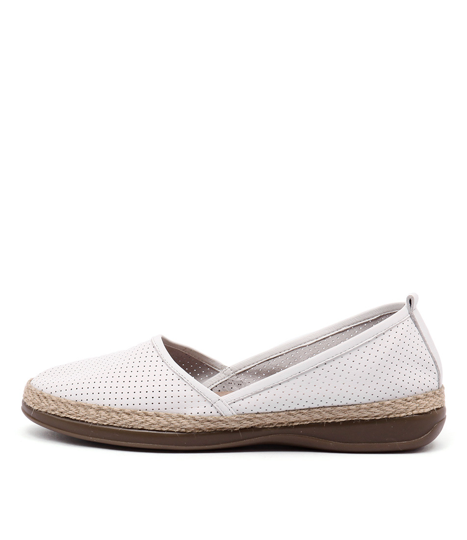 Zensu Camilla Ze White Flat Shoes