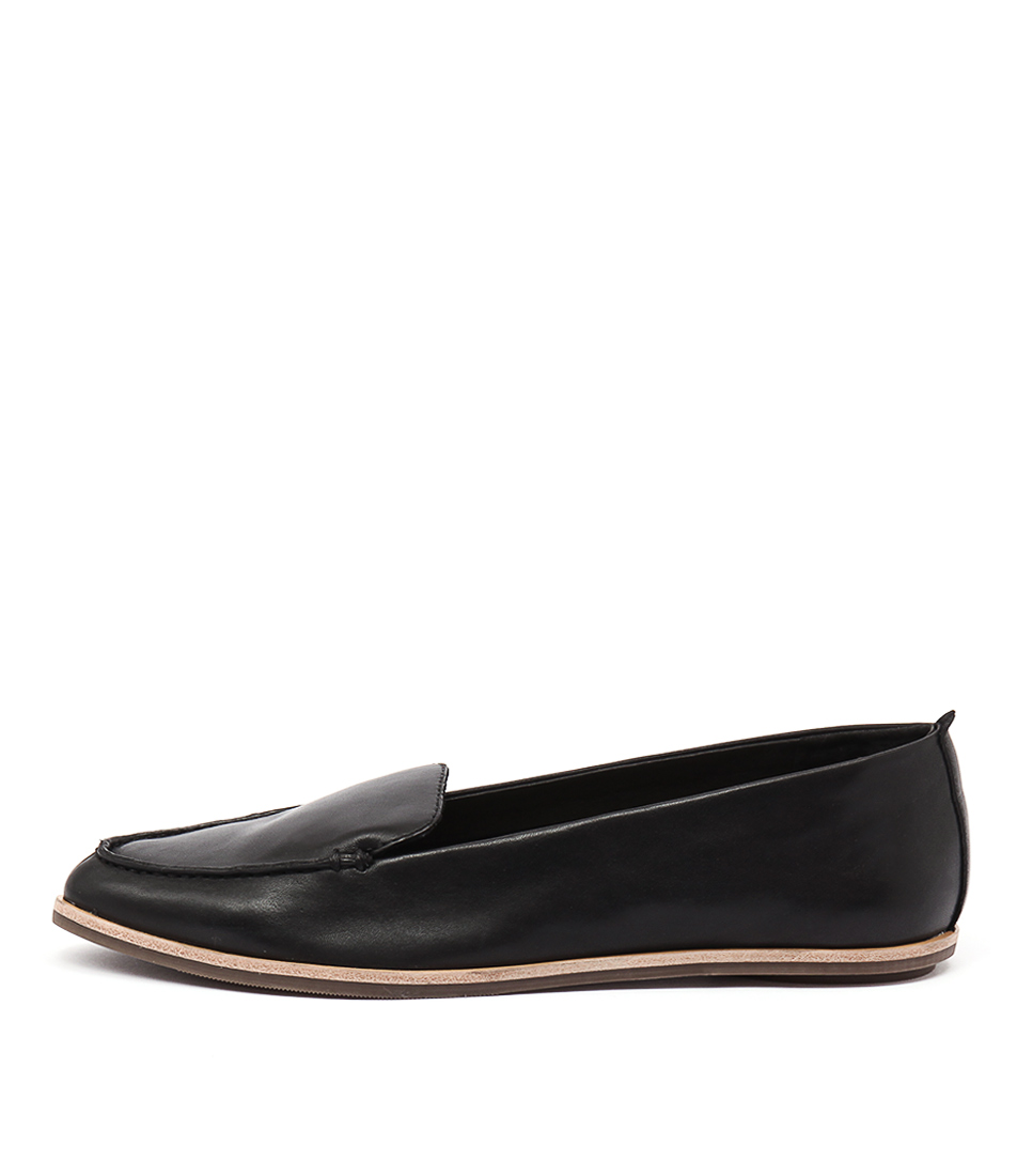 Zensu Aubrey Black Casual Flat Shoes