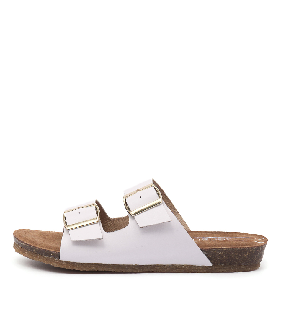 Zensu Odina Ze White Sandals