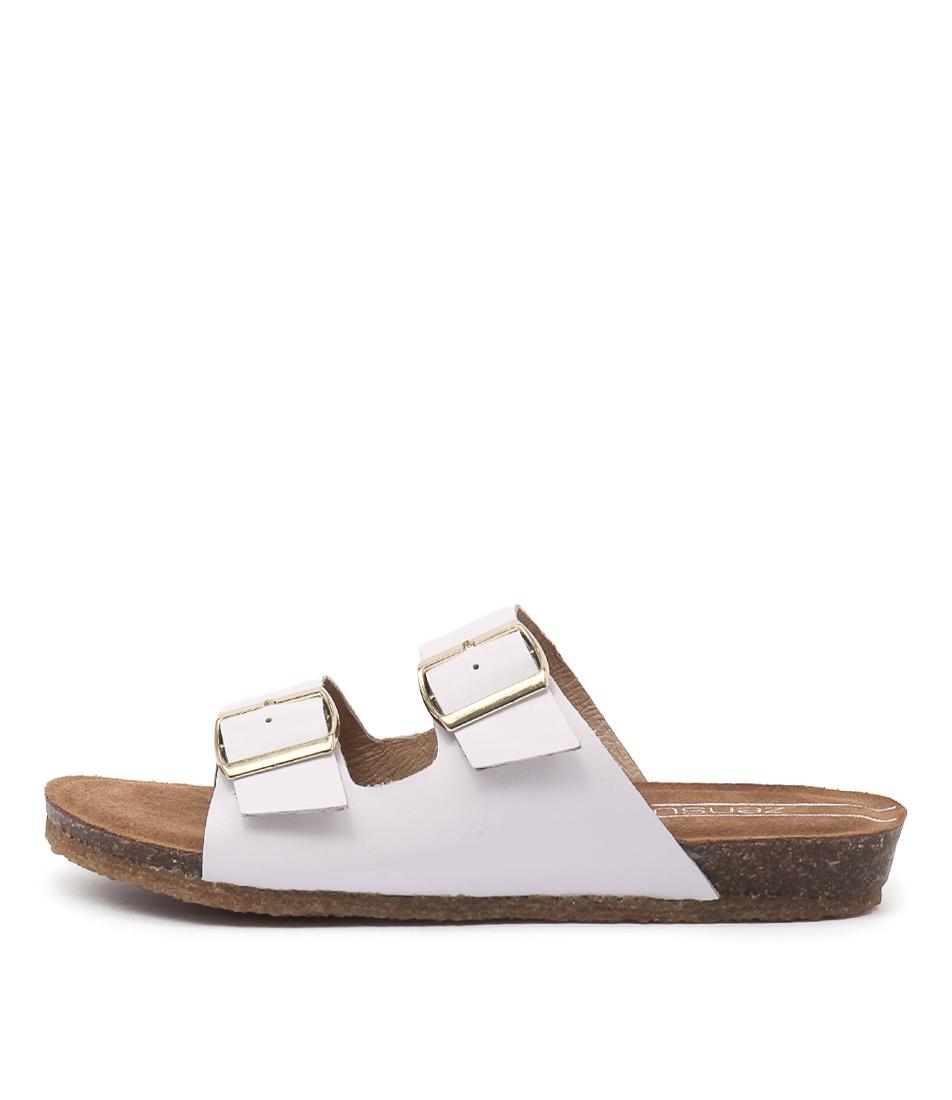 Zensu Odina Ze White Sandals