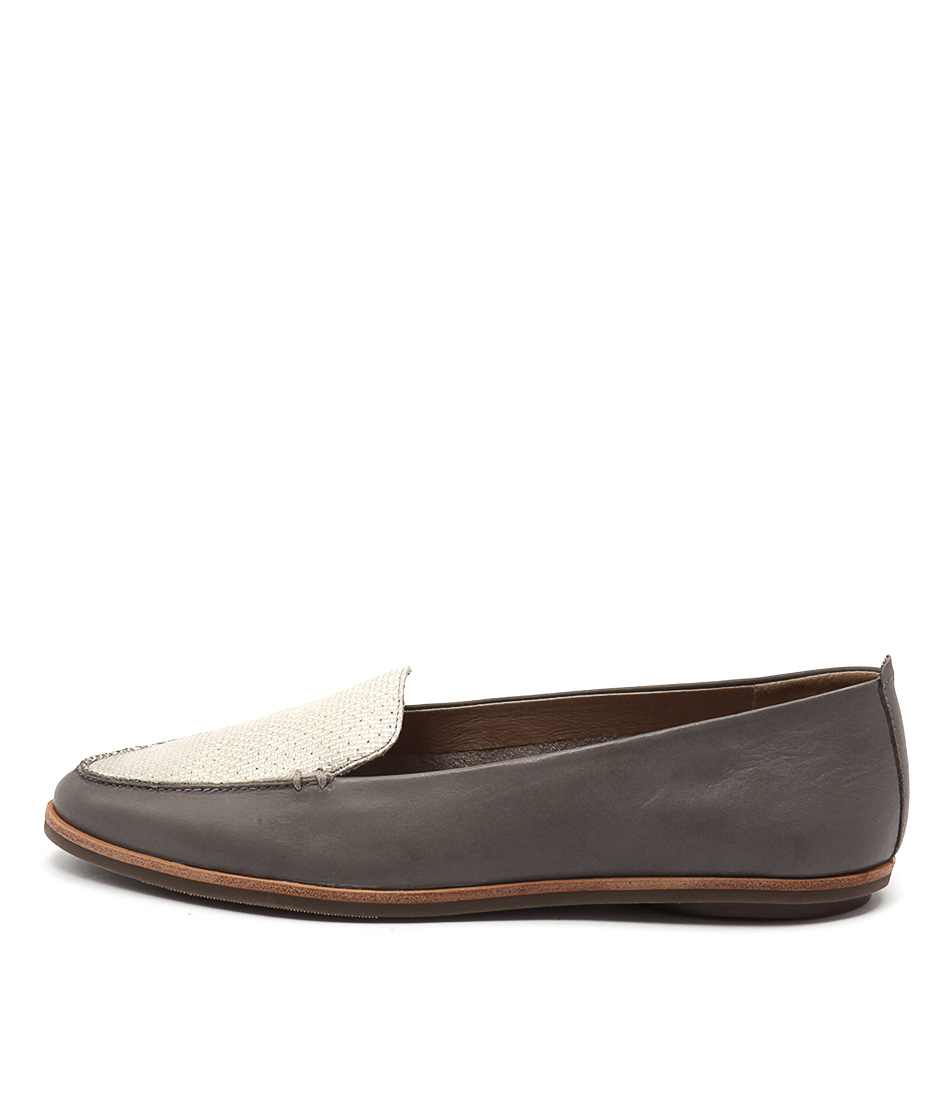 Zensu Aubrey Slate Grey Casual Flat Shoes