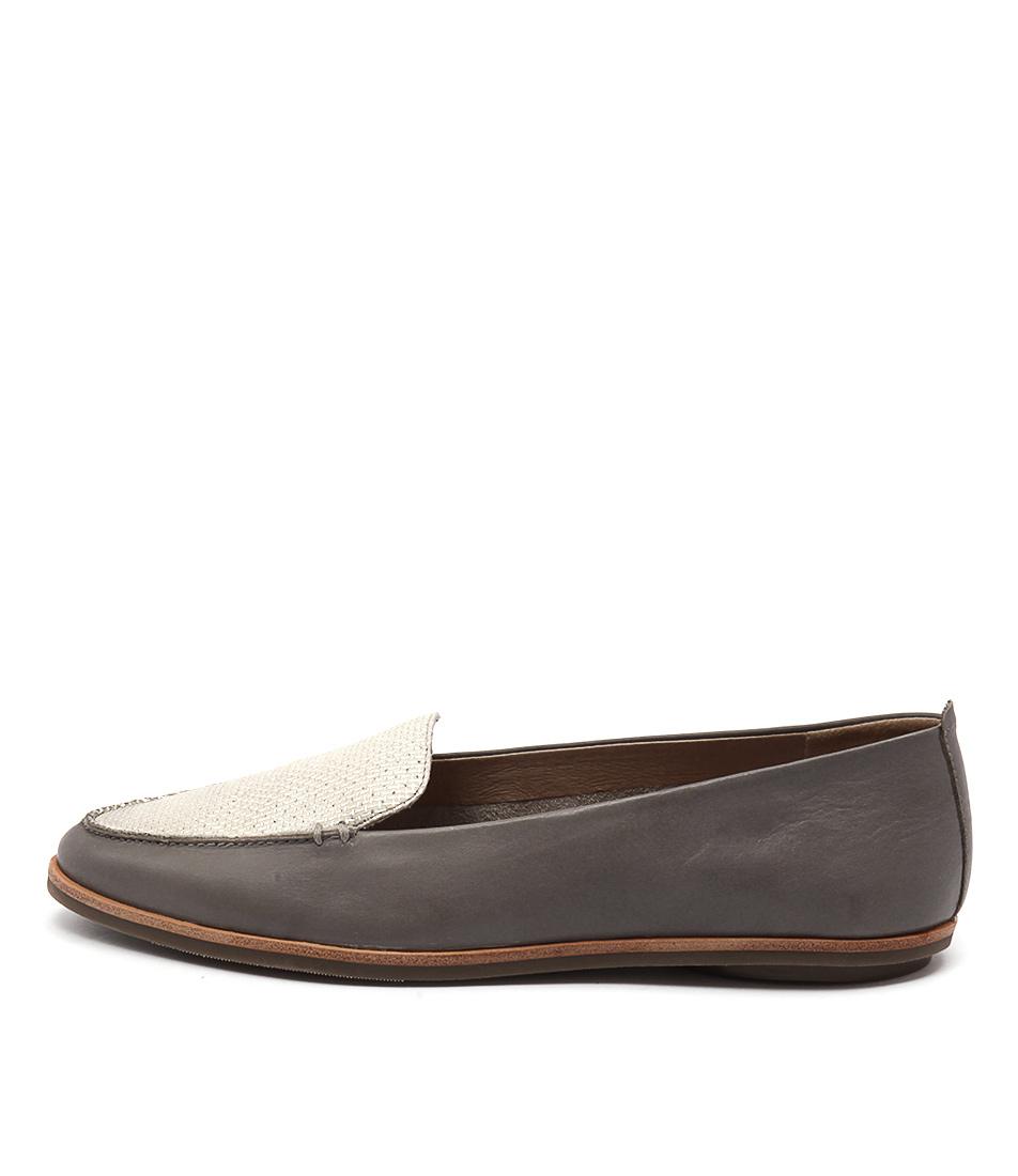 Zensu Aubrey Slate Grey Flat Shoes
