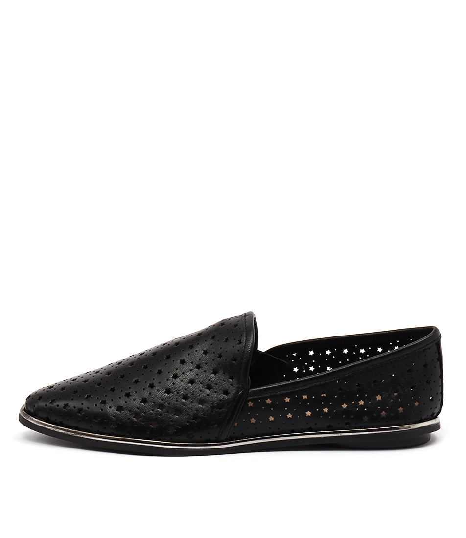Zensu Amaze Ze Black Casual Flat Shoes