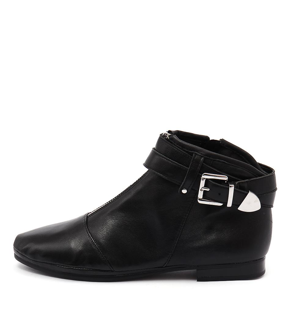 Zensu Fancy Ze Black Casual Ankle Boots