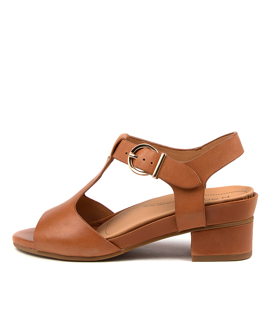 Buy Ziera Annabel Xw Zr Tan Heeled Sandals online with free shipping