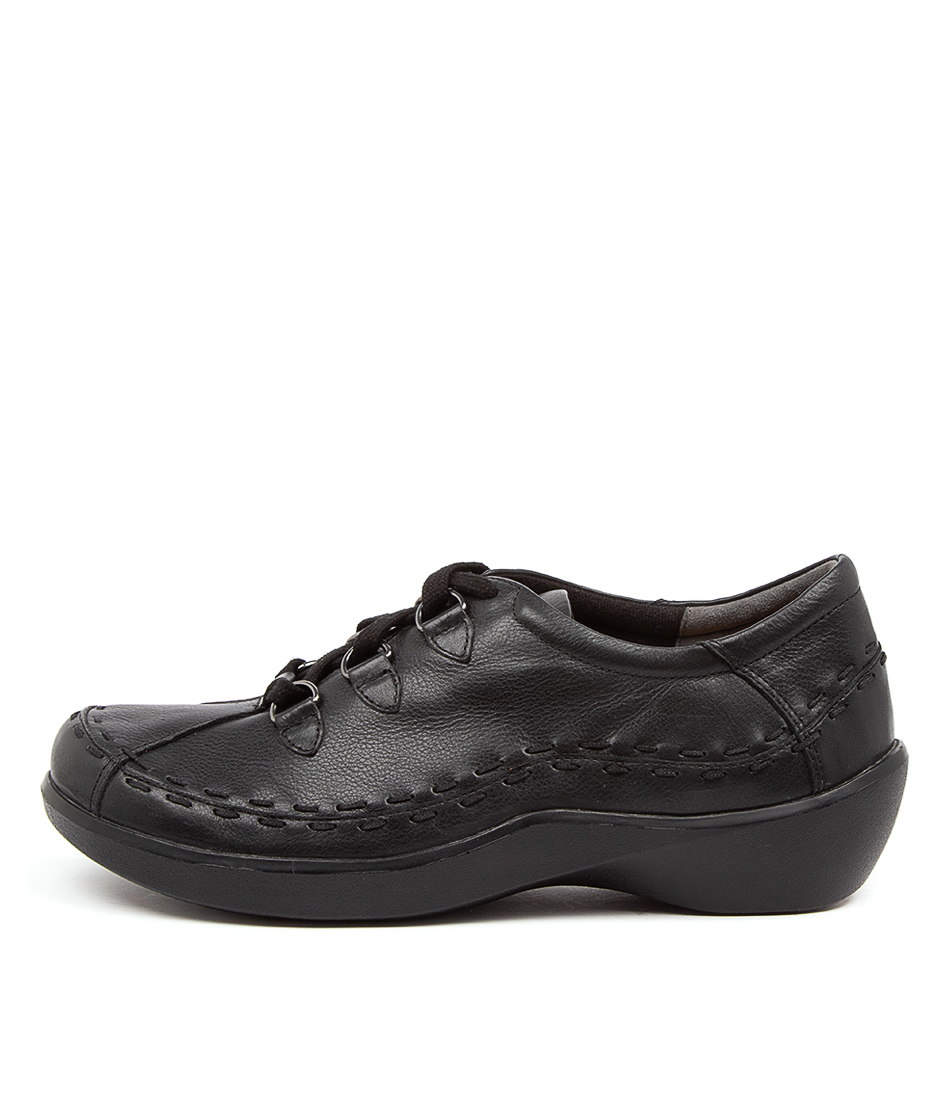 Buy Ziera Allsorts Xw Zr Black Flats online with free shipping