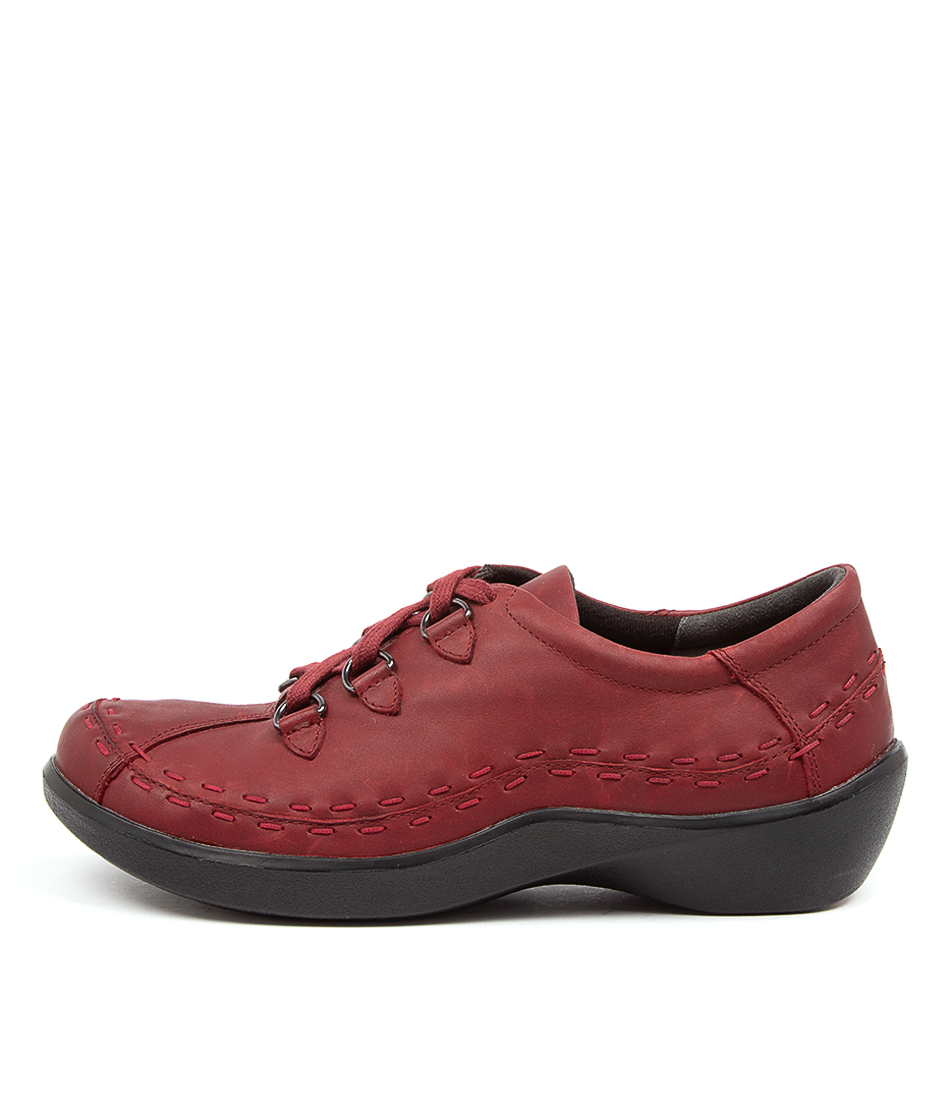 Buy Ziera Allsorts Xw Zr Rouge Trooper Flats online with free shipping