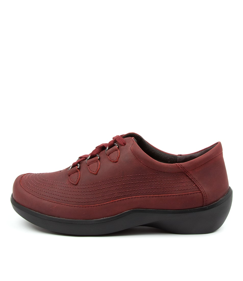 Buy Ziera Amaris Xw Zr Rouge Trooper Flats online with free shipping