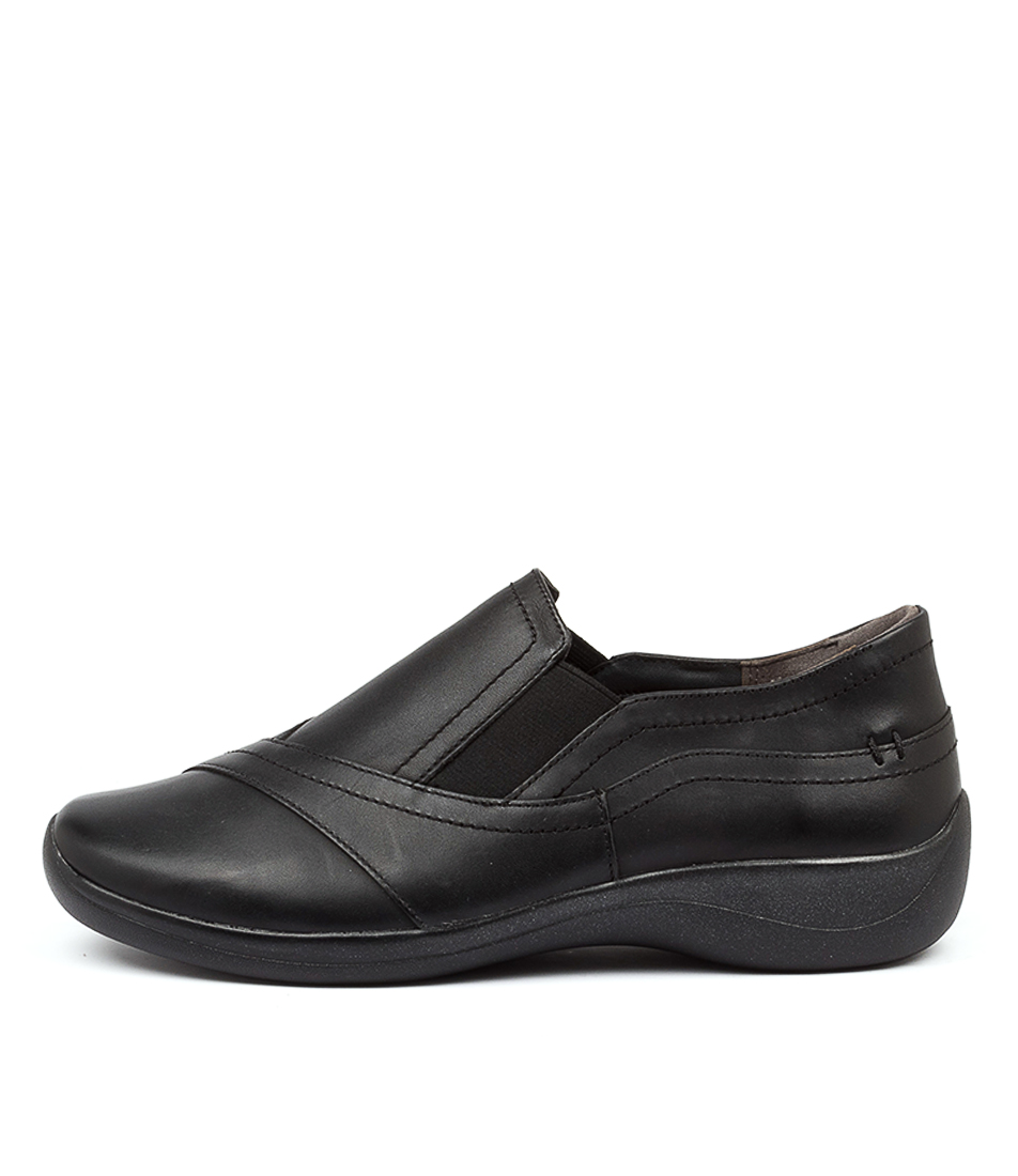 Buy Ziera Java Xf Zr Black Flats online with free shipping