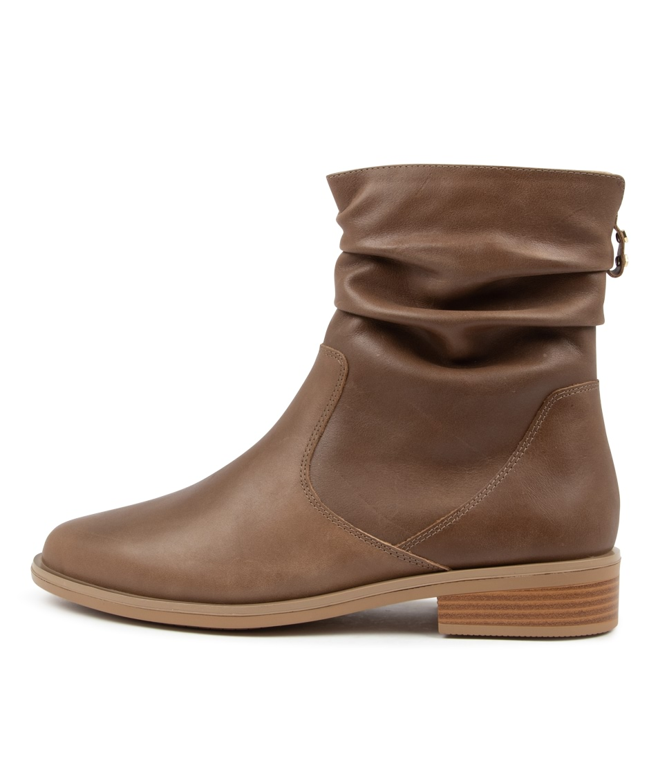 Buy Ziera Selma Xf Zr Taupe Ankle Boots online with free shipping