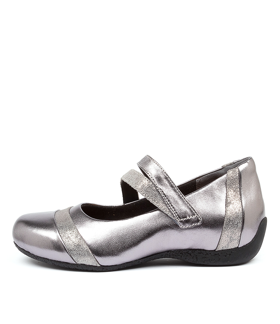 Buy Ziera Starr W Zr Pewter Sherbet Flats online with free shipping