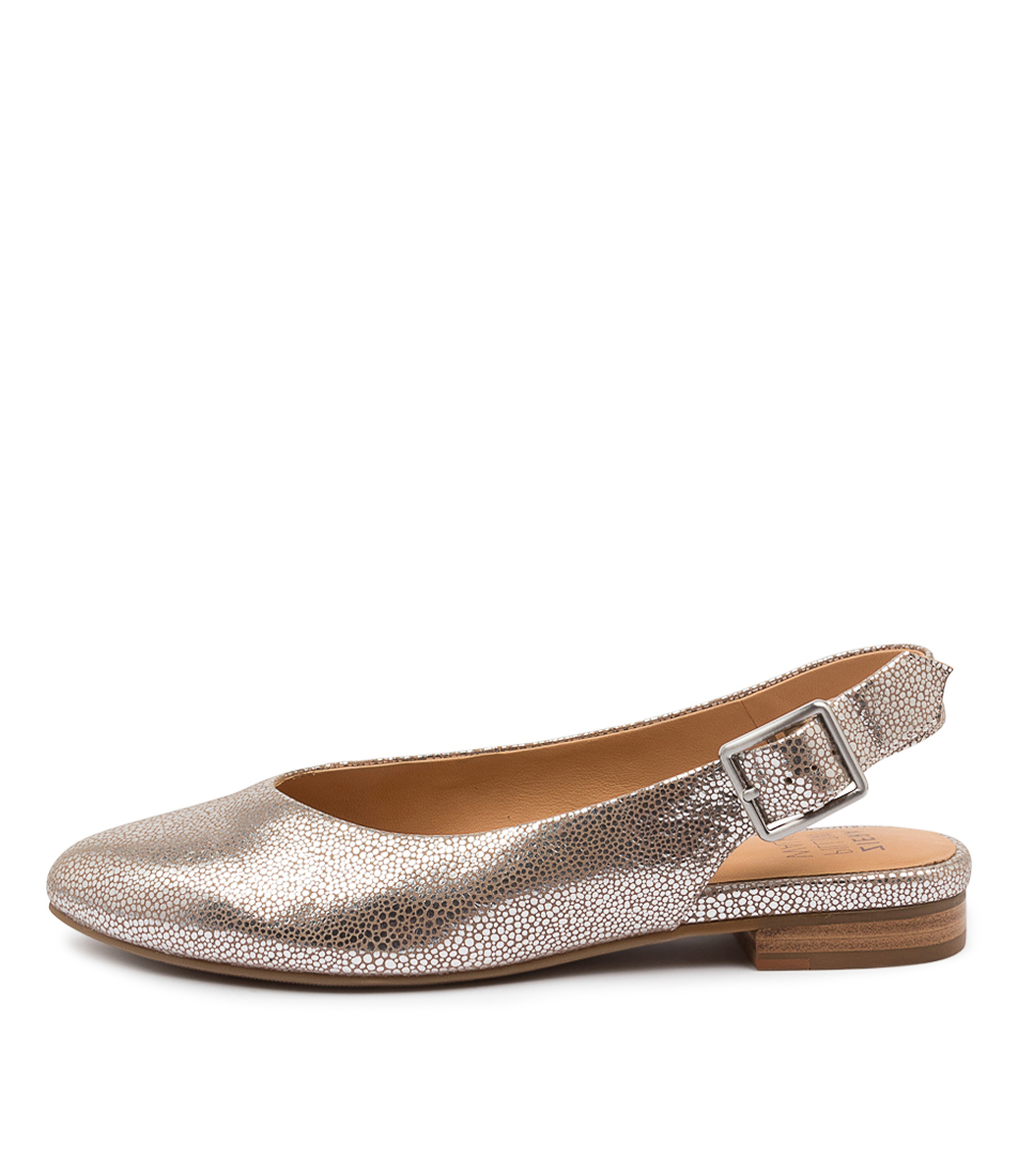 Buy Ziera Lisa W Zr Platinum Stingray Flats online with free shipping