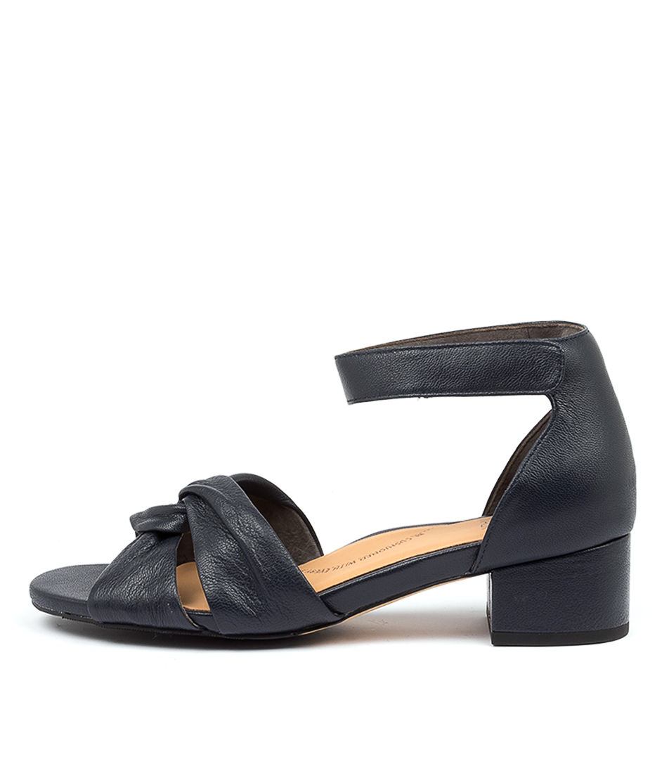 Buy Ziera Tenali Xw Zr Navy Heeled Sandals online with free shipping