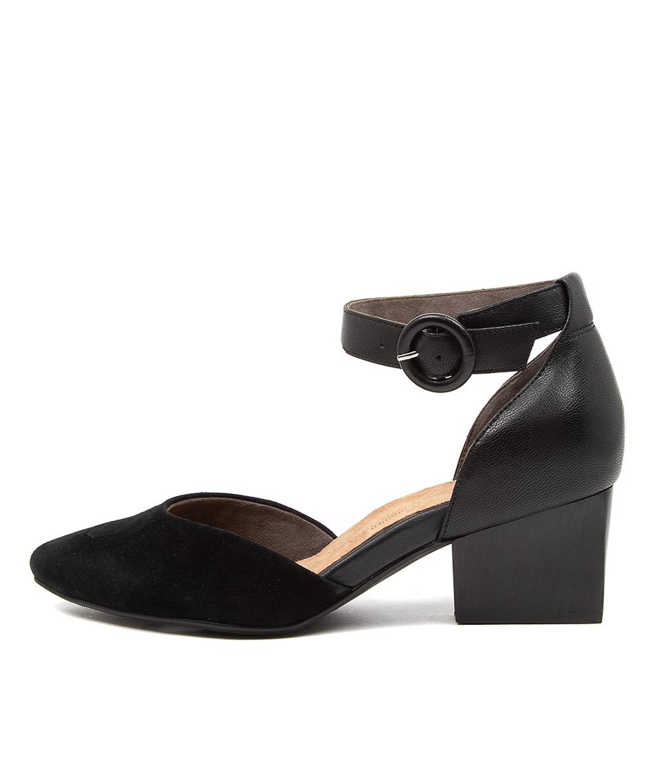 Buy Ziera Vanita Xw Zr Black Flats online with free shipping