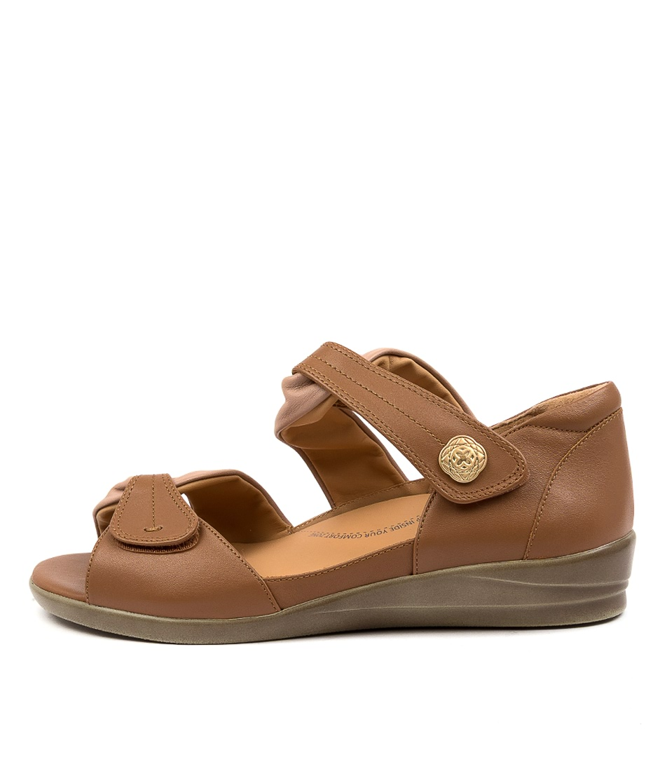 Buy Ziera Doxie W Zr Blush Tan Flat Sandals online with free shipping