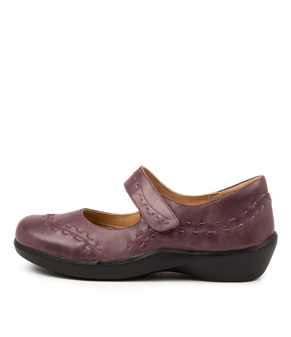 Buy Ziera Gummibear Xw Zr Purple Flats online with free shipping