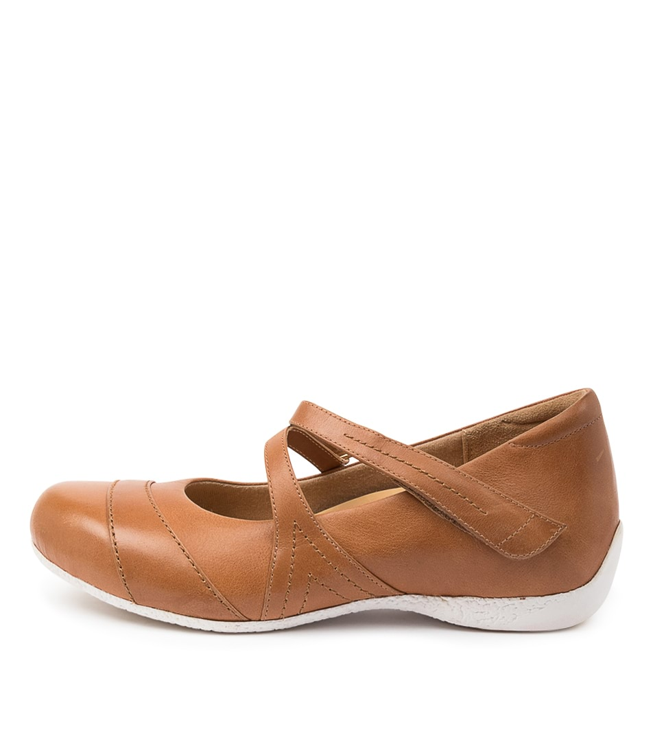 Buy Ziera Xray W Zr Tan Flats online with free shipping