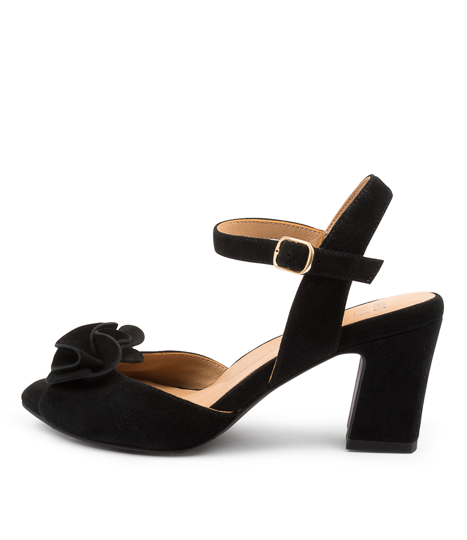 Buy Ziera Antonia W Zr BlackHeeled Sandals online with free shipping