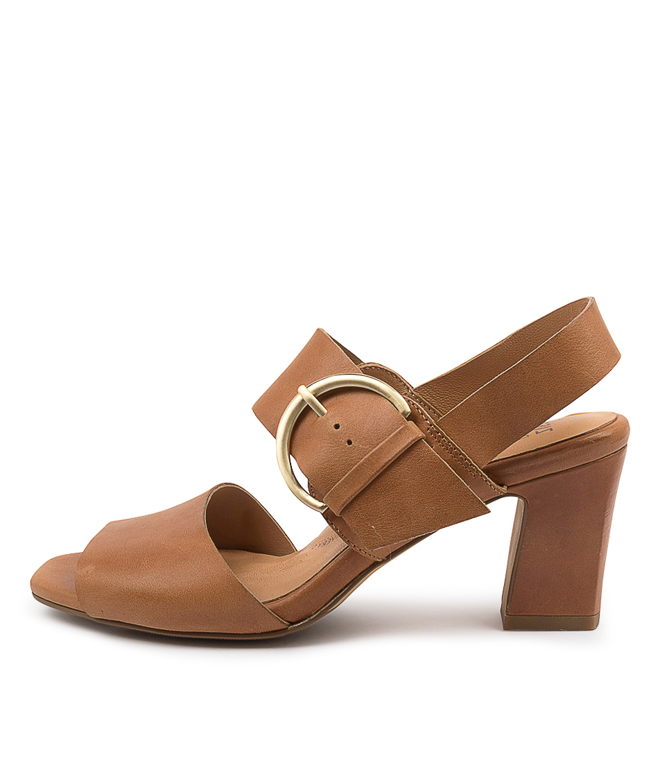 Buy Ziera Ashley W Zr Tan Heeled Sandals online with free shipping
