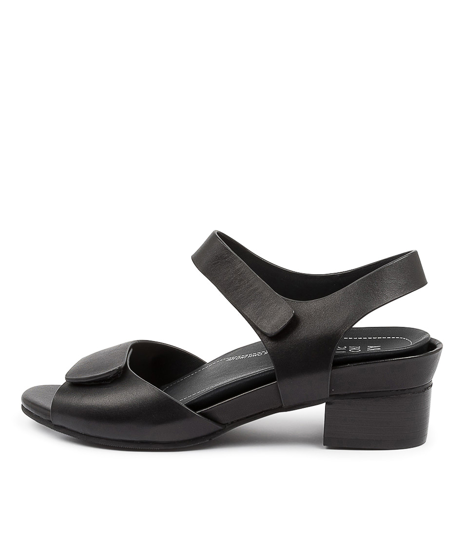 Buy Ziera Ava Xw Zr Black Heeled Sandals online with free shipping