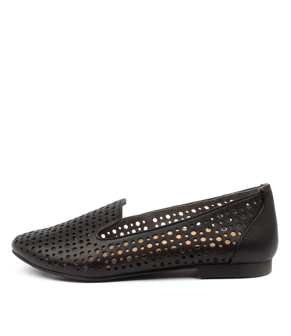 Buy Ziera Cindra Xf Zr Black Flats online with free shipping