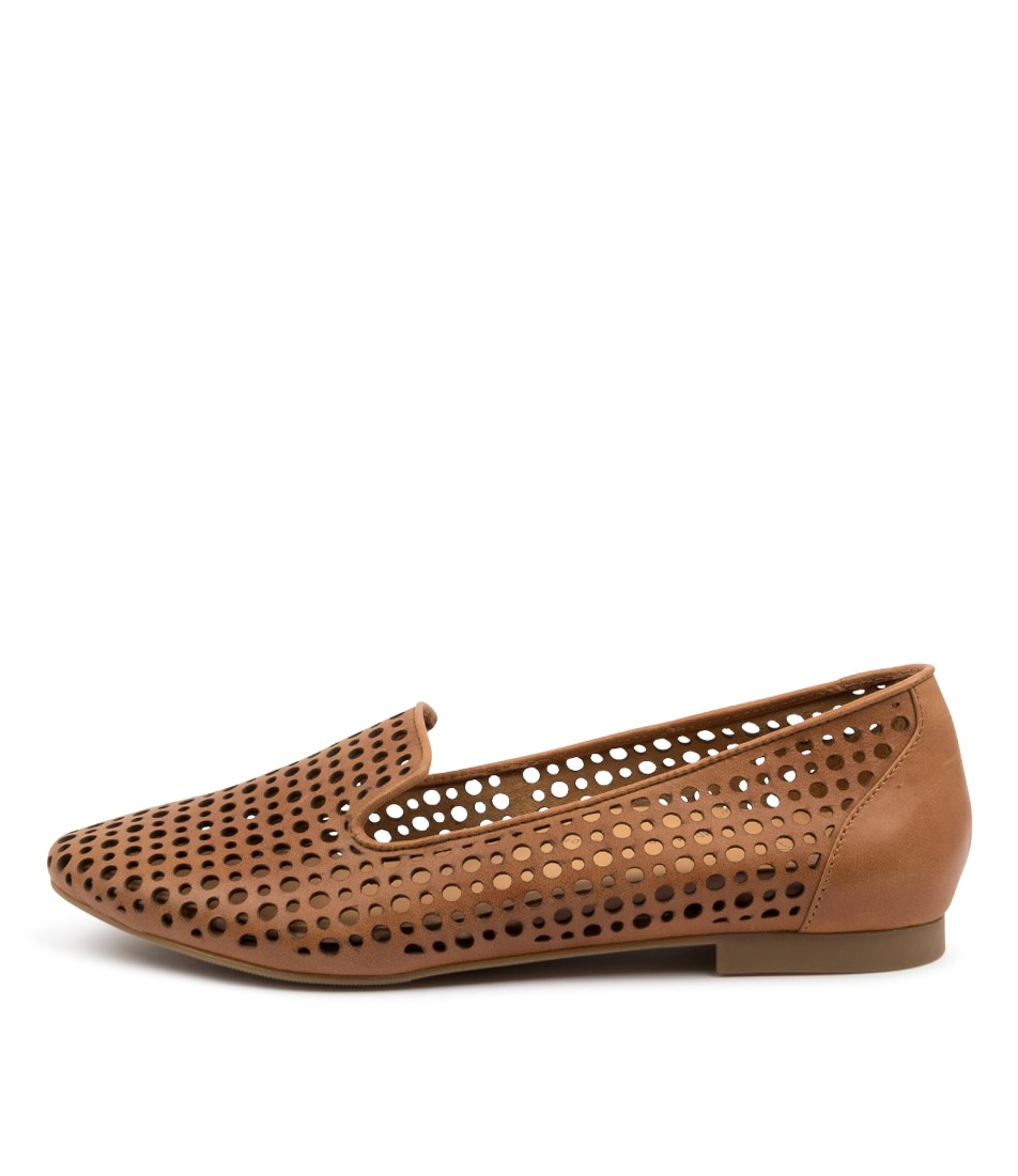 Buy Ziera Cindra Xf Zr Tan Flats online with free shipping