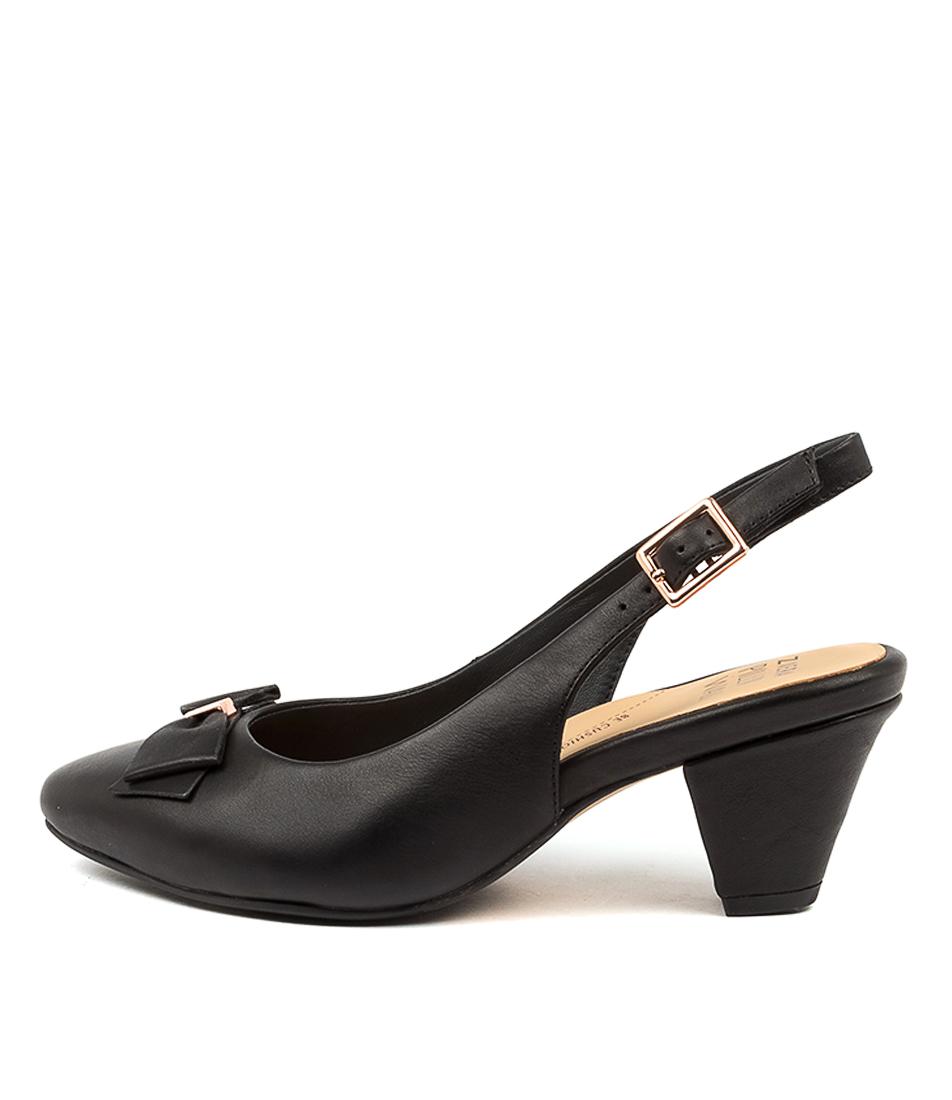 Buy Ziera Cinda W Zr Black High Heels online with free shipping