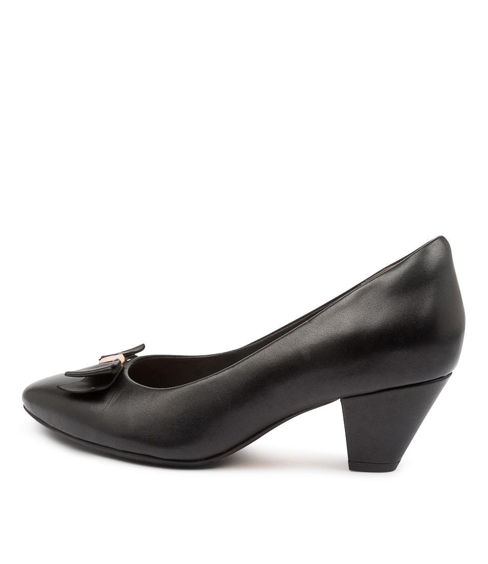 Buy Ziera Cass W Zr Black High Heels online with free shipping