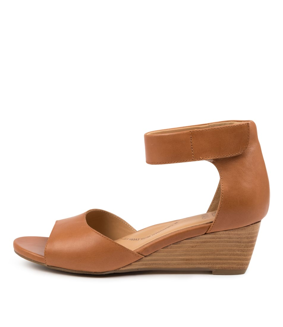 Buy Ziera Kazza W Zr TanHeeled Sandals online with free shipping