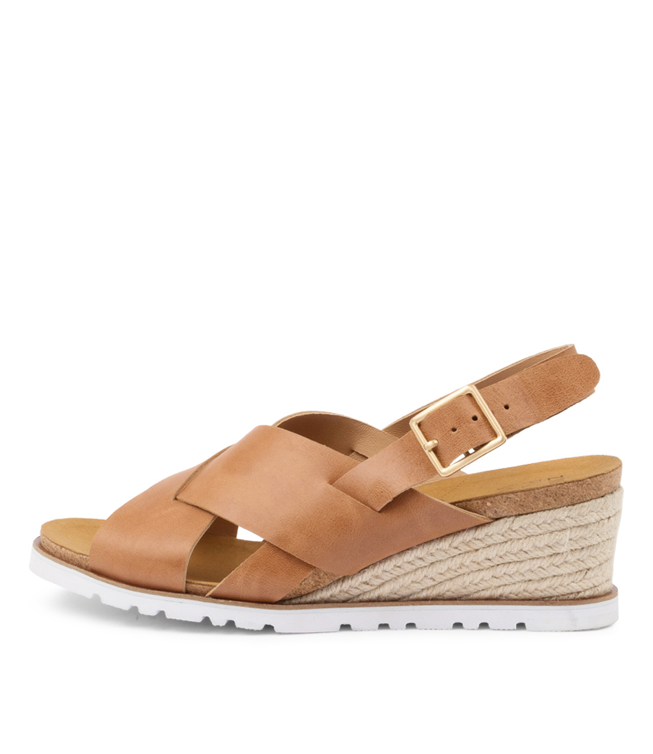 Buy Ziera Kyden W Zr TanHeeled Sandals online with free shipping