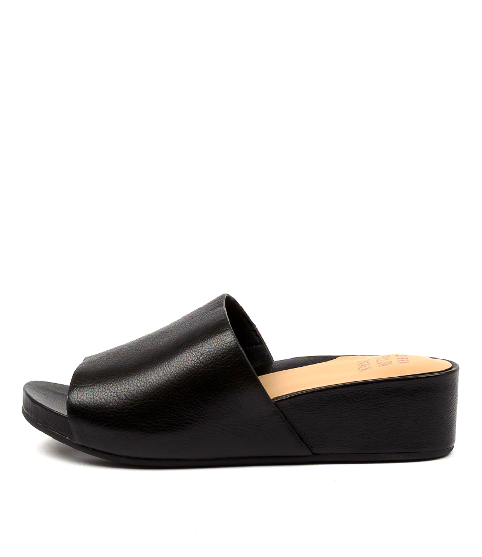 Buy Ziera Marcy W Zr Black Flat Sandals online with free shipping