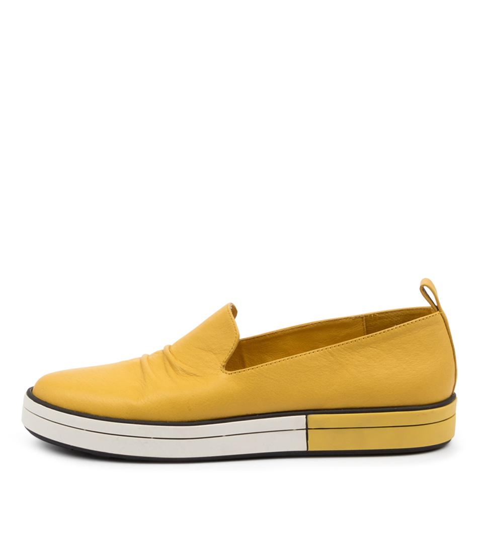 Buy Ziera Raider W Zr Yellow Flats online with free shipping