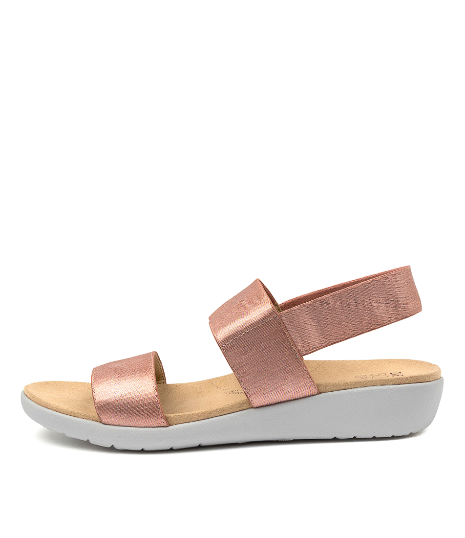 Buy Ziera Usaid W Zr Toasted Flat Sandals online with free shipping