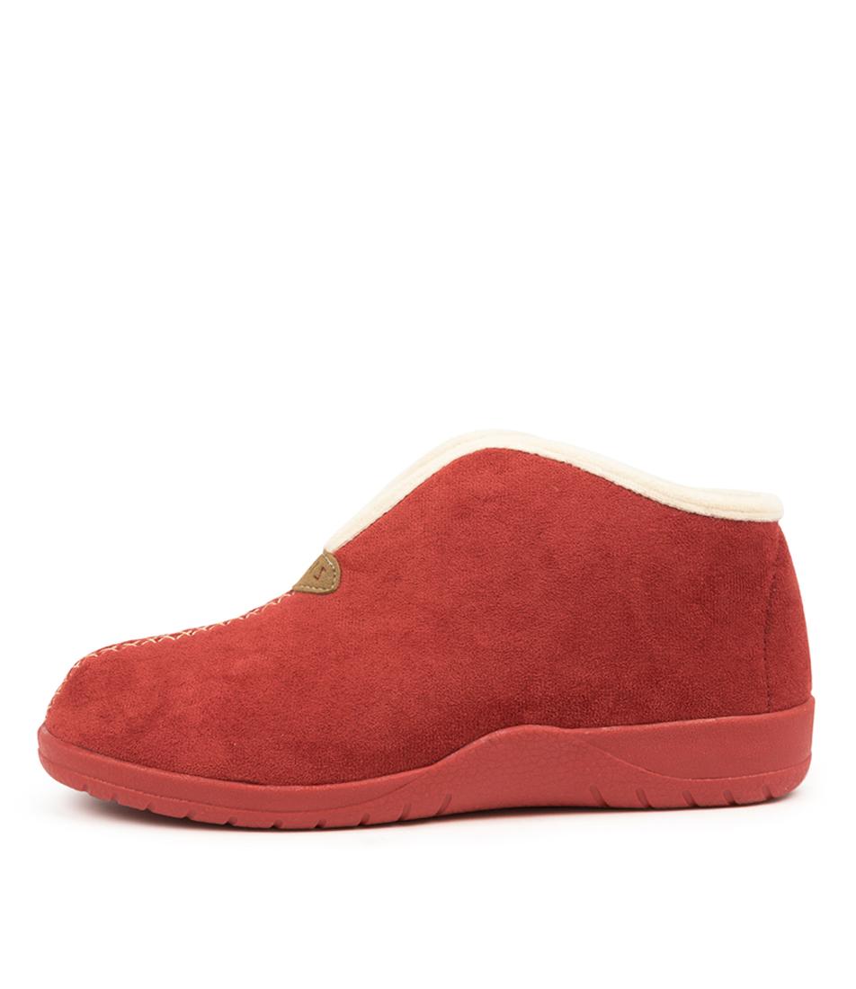 Buy Ziera Cuddles W Zr Chilli Beige Fur Flats online with free shipping