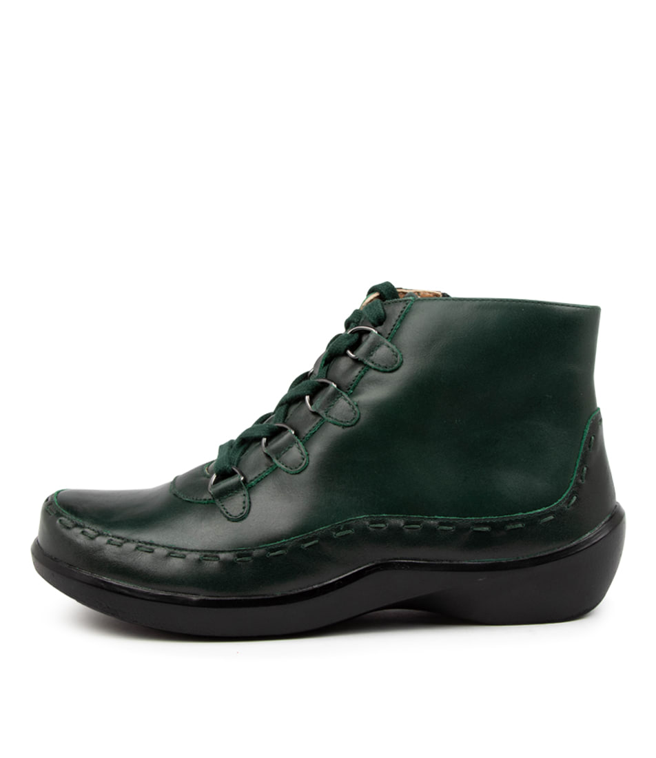 Buy Ziera Alexia Xw Zr Emerald Ankle Boots online with free shipping