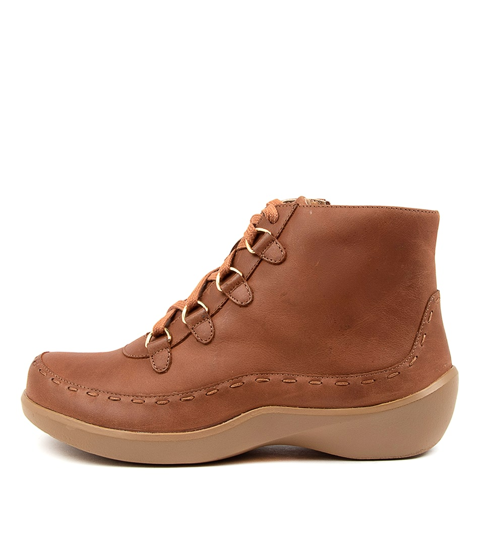 Buy Ziera Alexia Xw Zr Dk Cafe Ankle Boots online with free shipping