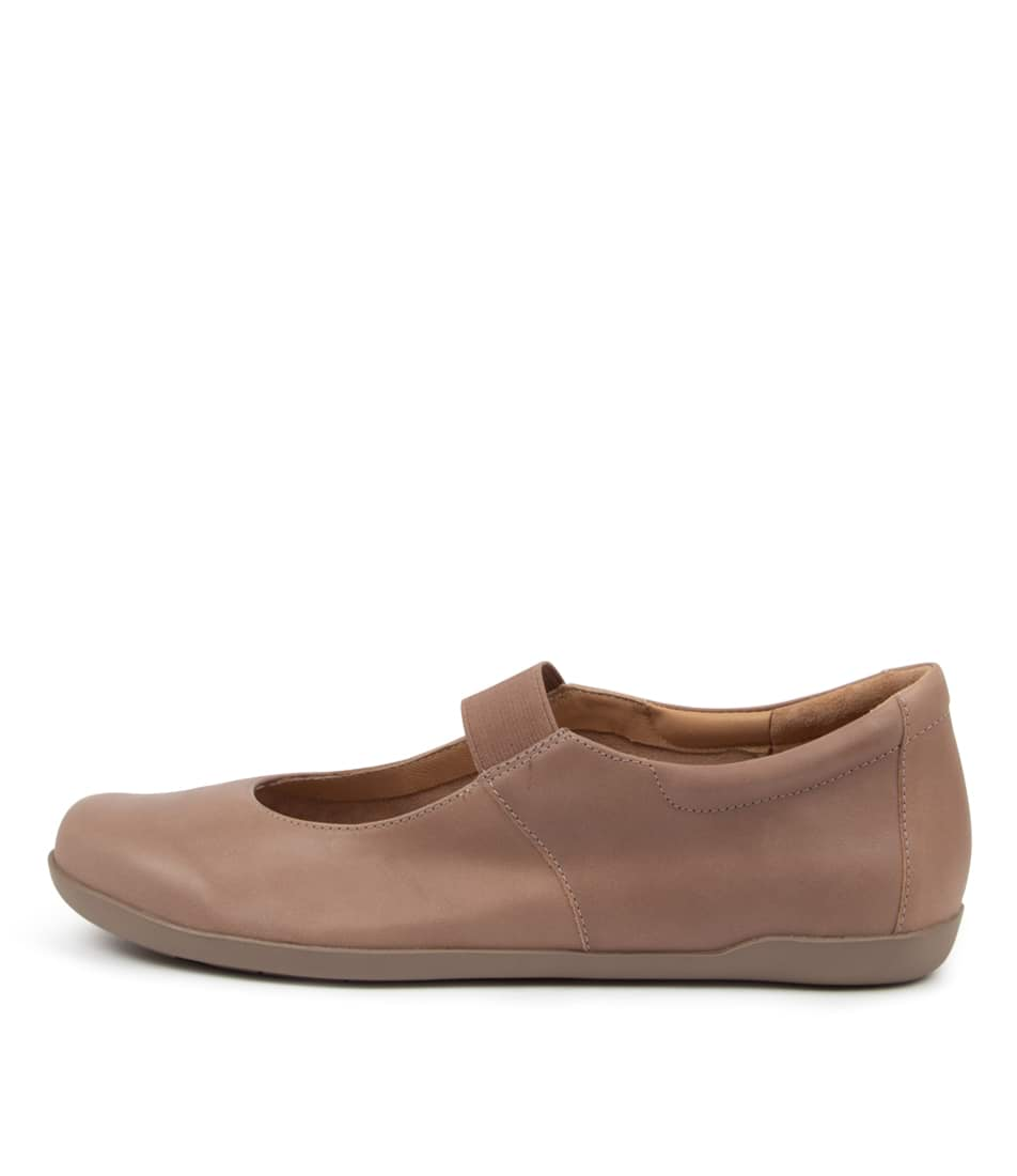 Buy Ziera Lovely W Zr Taupe Flats online with free shipping