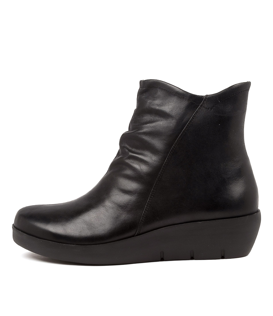 Buy Ziera Benny W Zr Black Ankle Boots online with free shipping