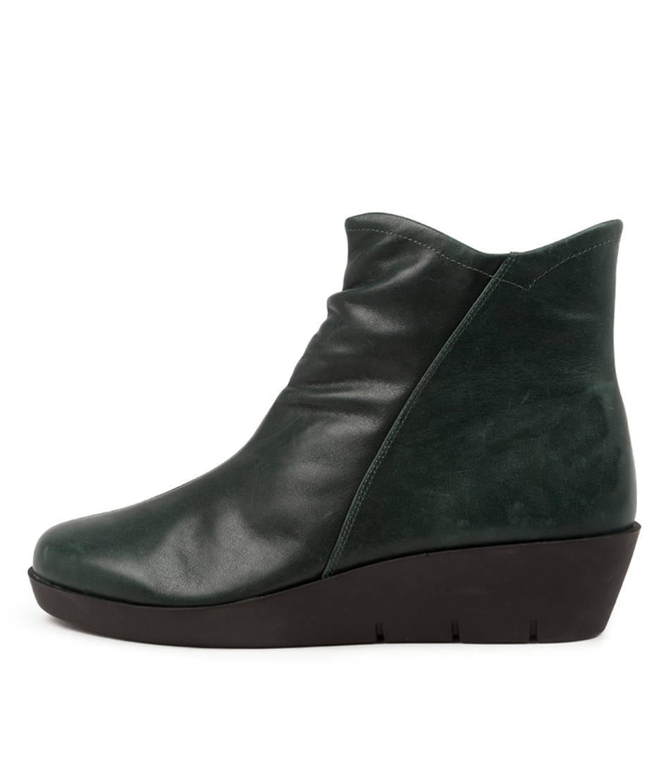 Buy Ziera Benny W Zr Forest Ankle Boots online with free shipping