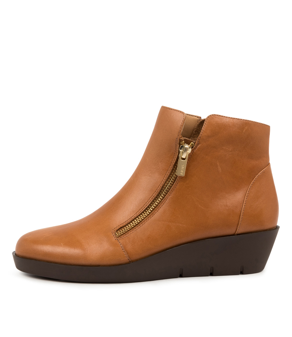 Buy Ziera Bertha W Zr Tan Ankle Boots online with free shipping
