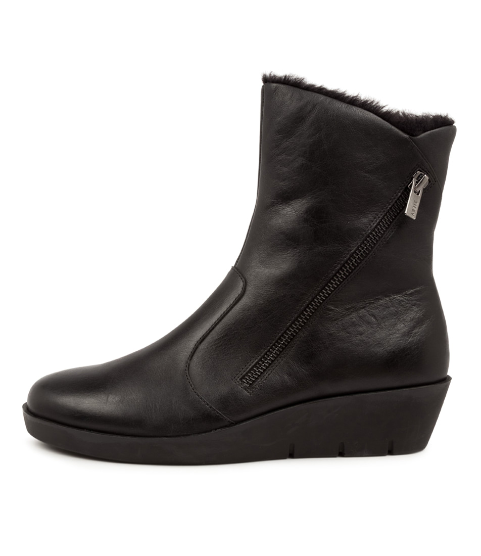 Buy Ziera Blayke W Zr Black Ankle Boots online with free shipping
