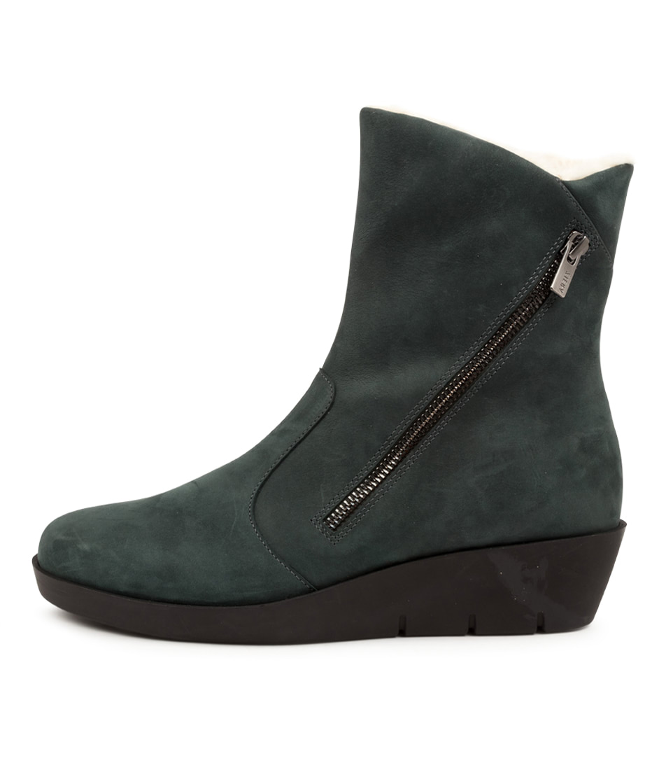 Buy Ziera Blayke W Zr Forest Ankle Boots online with free shipping