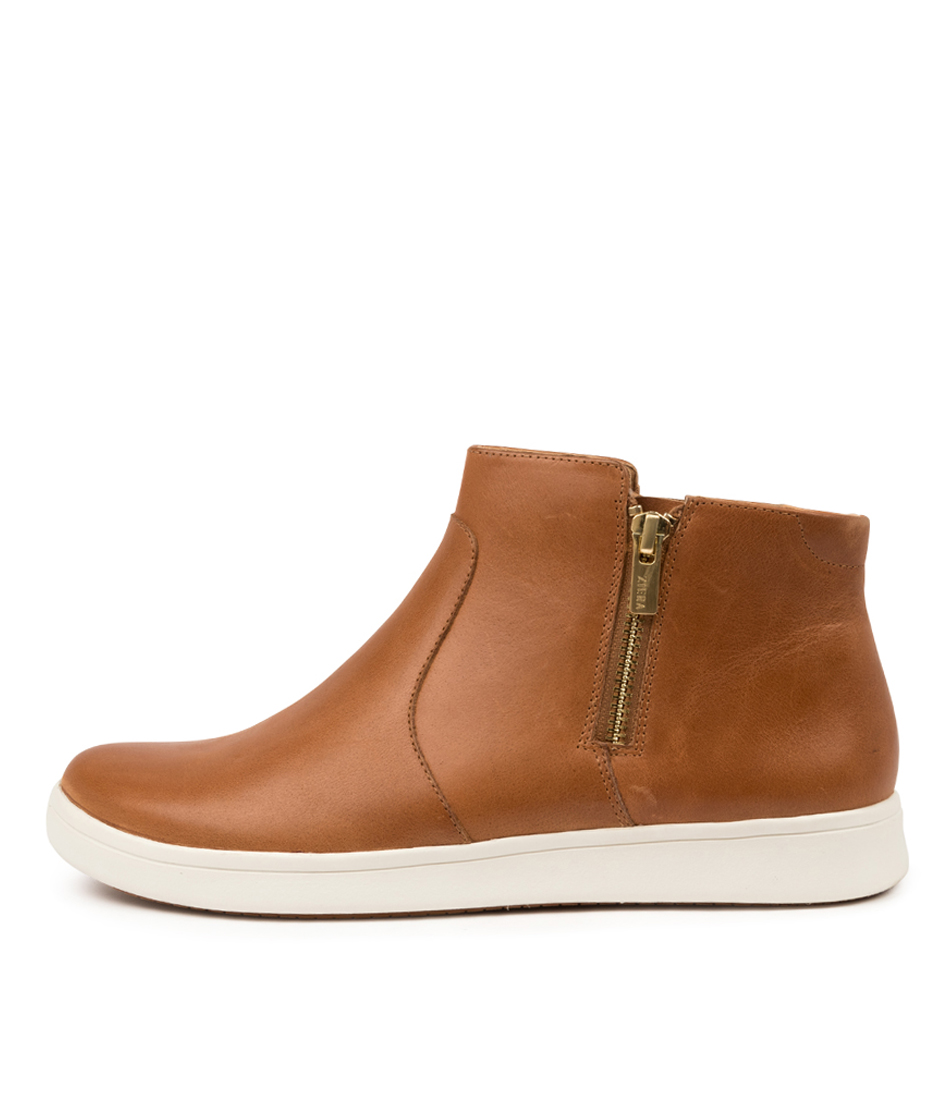 Buy Ziera Dillan Xf Zr Tan Ankle Boots online with free shipping