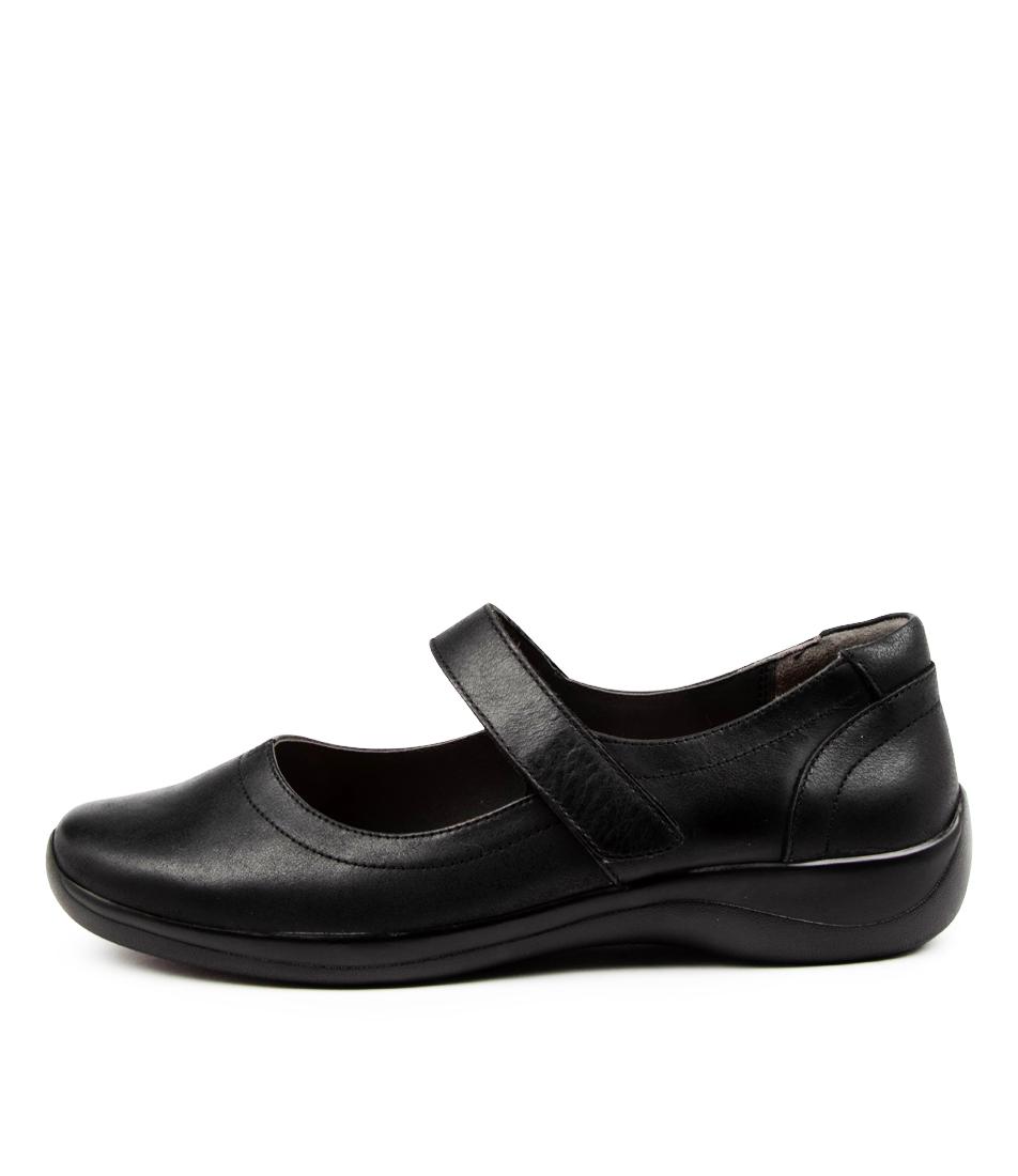 Buy Ziera Jean Xf Zr Black Flats online with free shipping