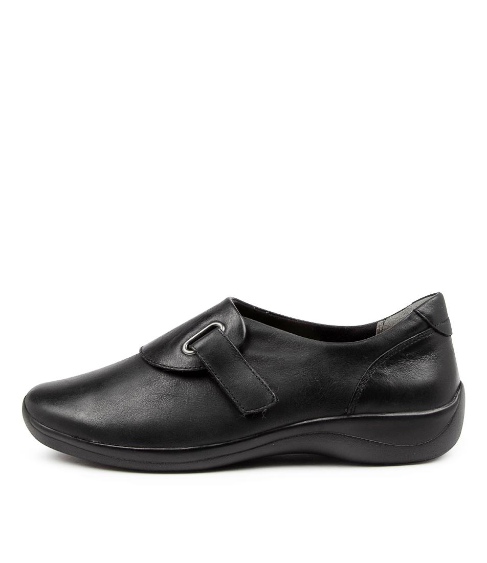 Buy Ziera Jimmy Xf Zr Black Flats online with free shipping