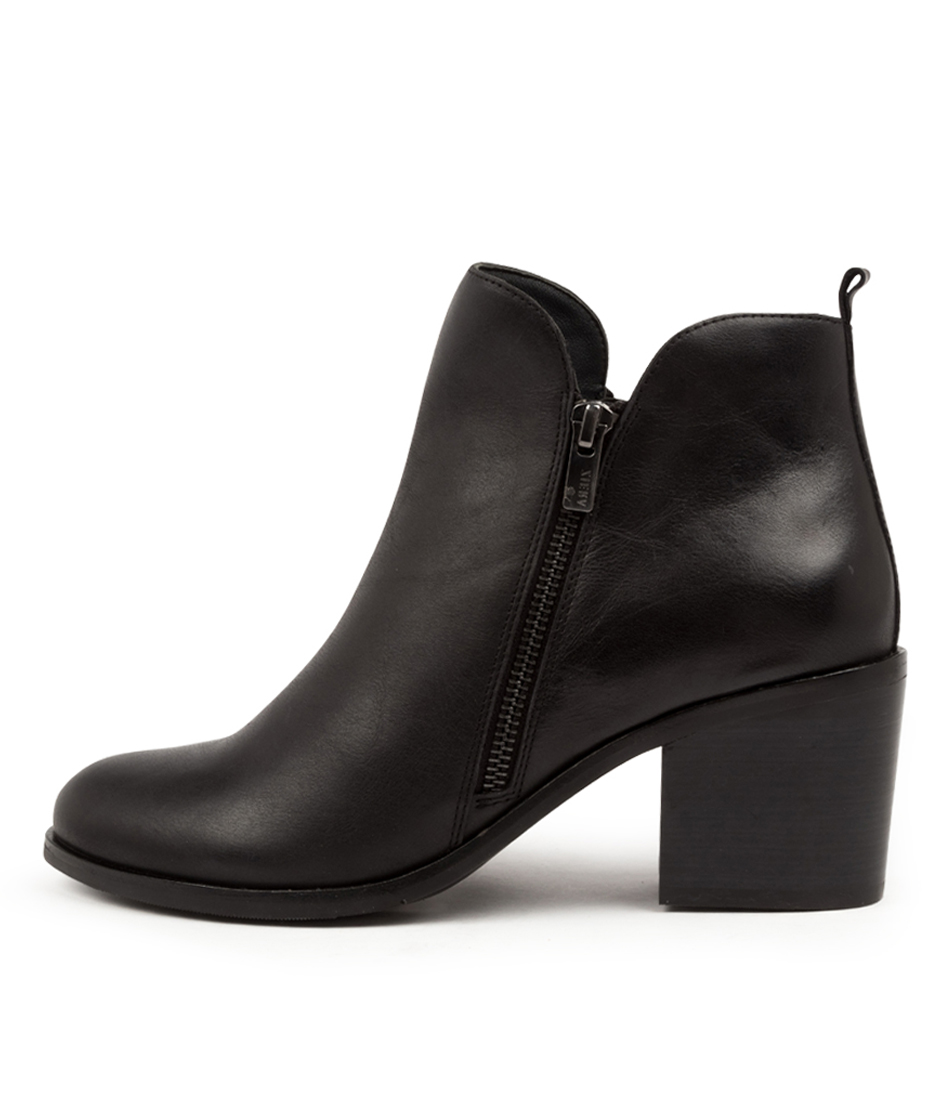 Buy Ziera Livia W Zr Black Ankle Boots online with free shipping