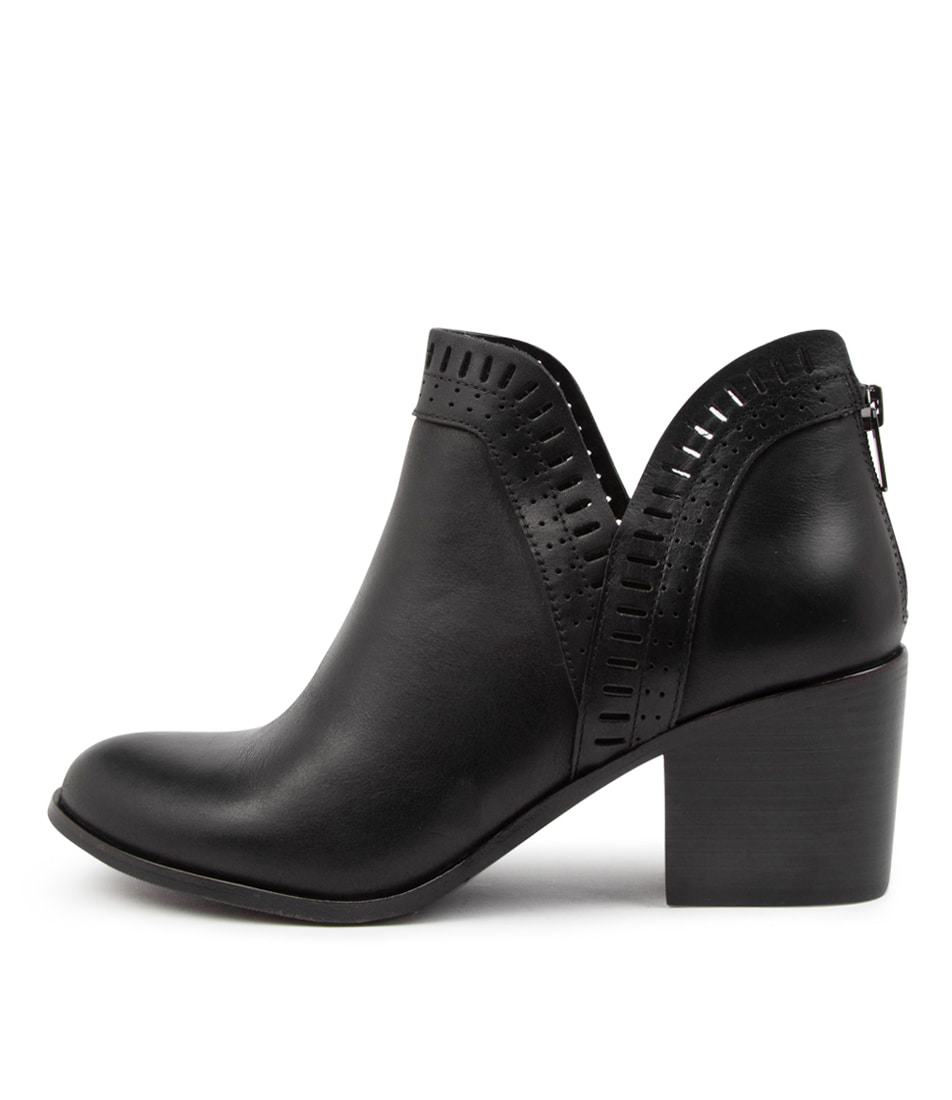Buy Ziera Lyran W Zr Black Ankle Boots online with free shipping